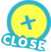 closeボタン②